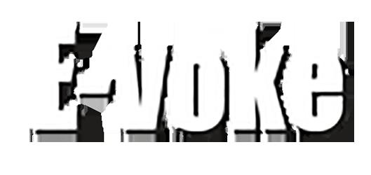 E-voke logo hvid kopi